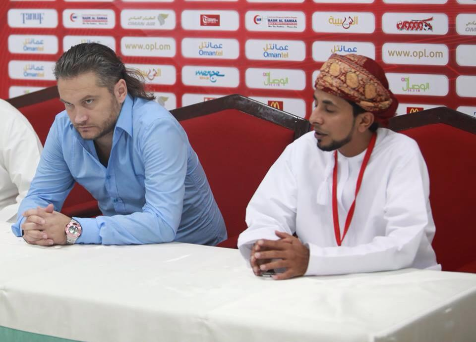 Head coach at Sur Club Oman / 2013-2014