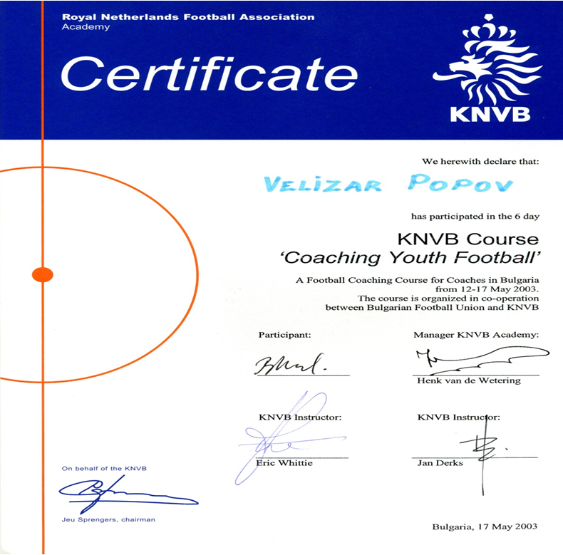 KNVB лиценз