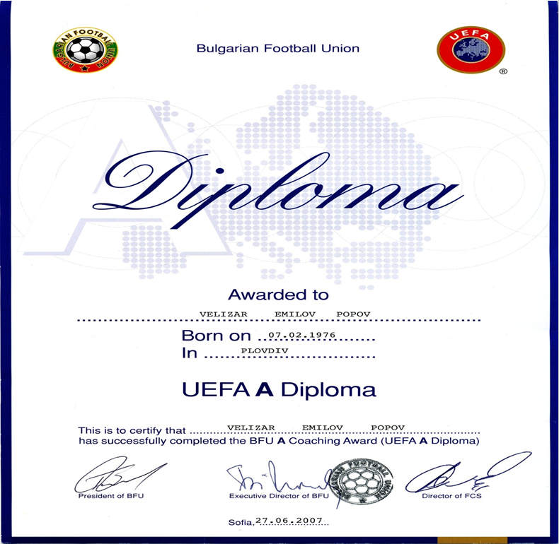 UEFA A