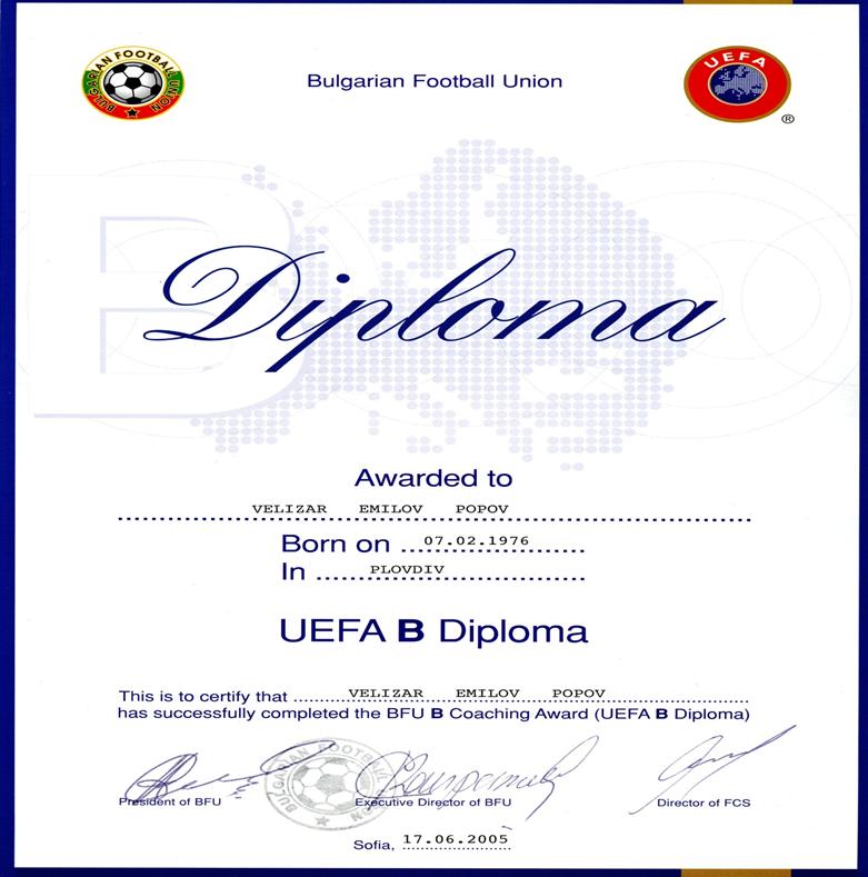 UEFA B